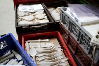 Stuckobjekte in Kisten