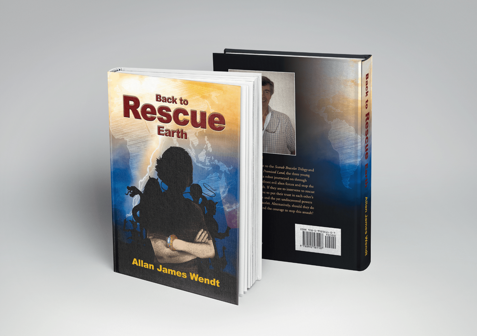 Back to Rescue Earth book