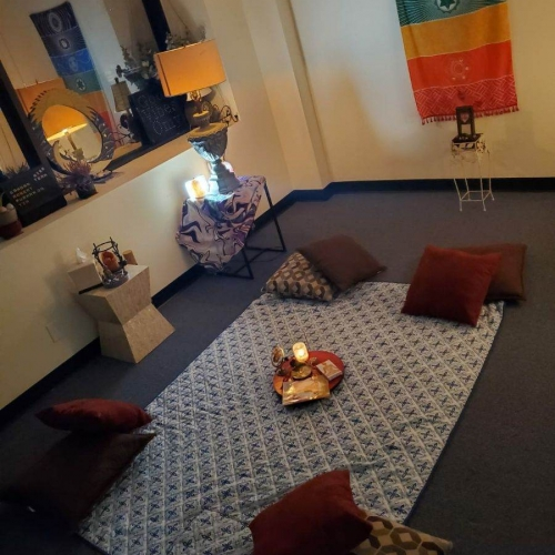 Meditation Session in our Group Room - RISE & Shine