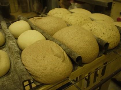Leavened whole grain loaves