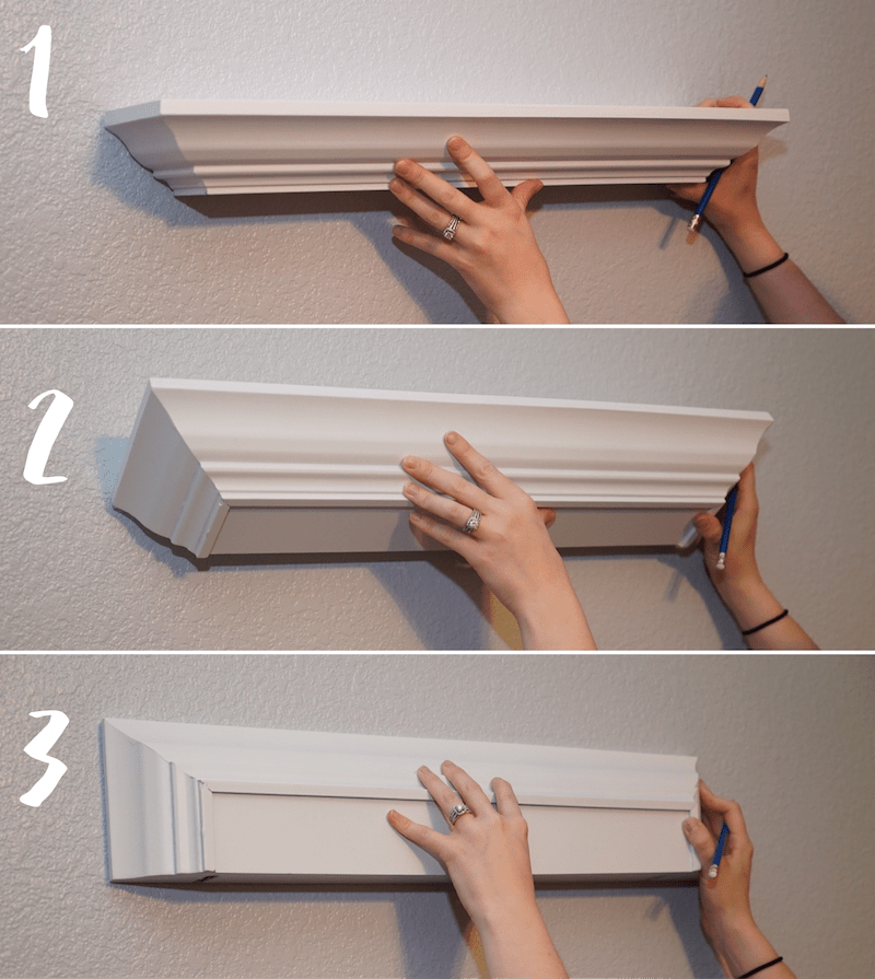 Flip the Shelf Up to Accurately Mark Holes