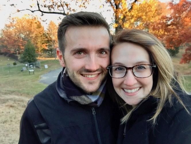 Andrew and Hayley in VA