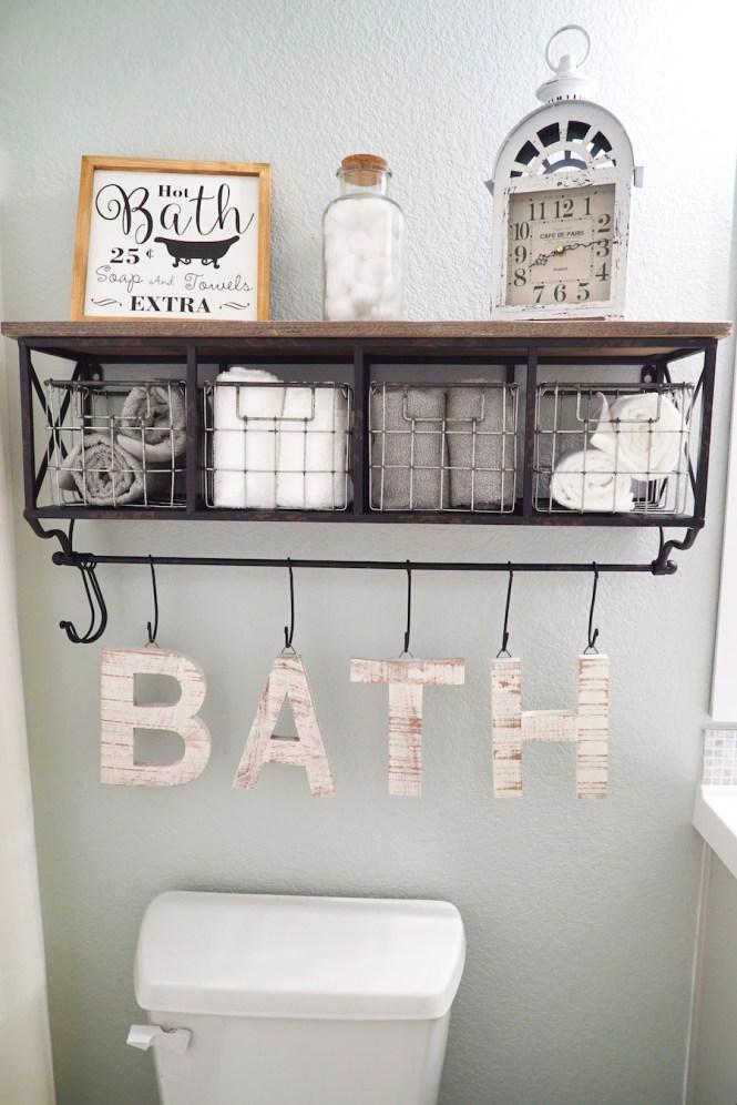 Bathroom Makeover Decor