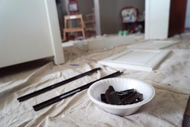 Painting Furniture - Hardware
