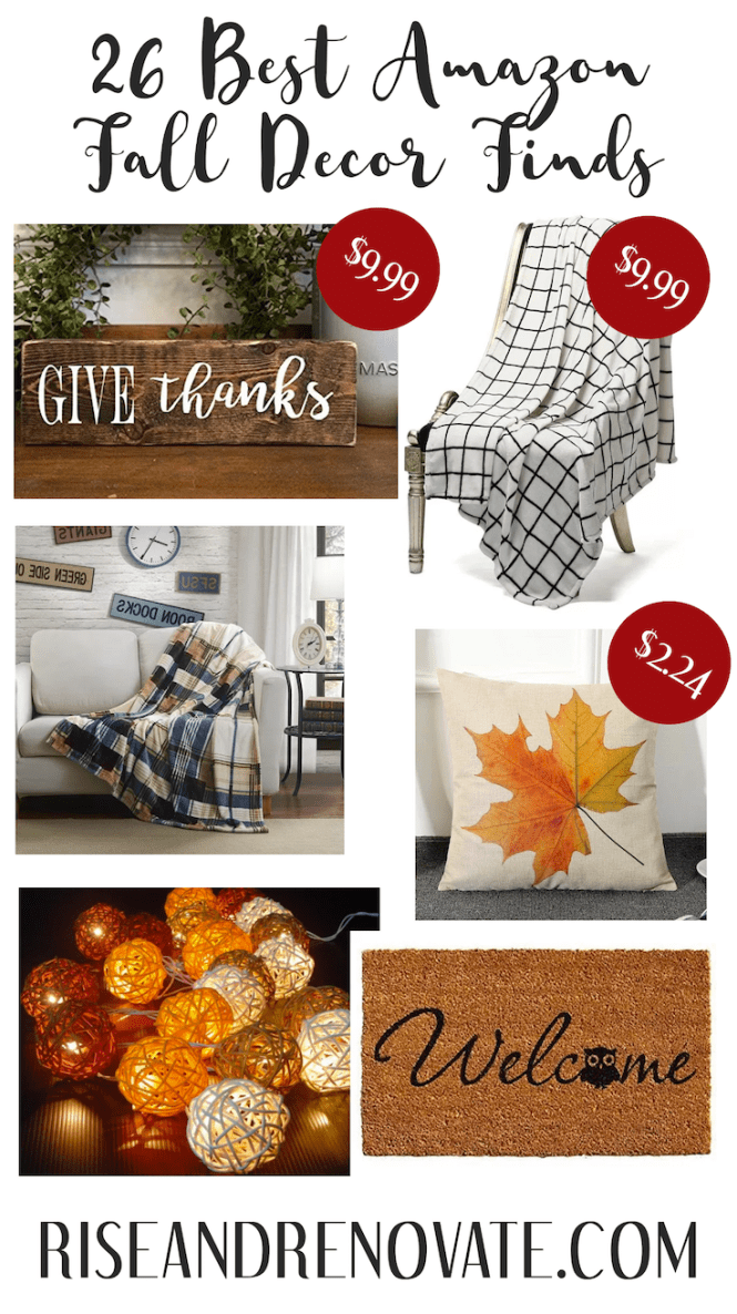Amazon Fall Decor Finds