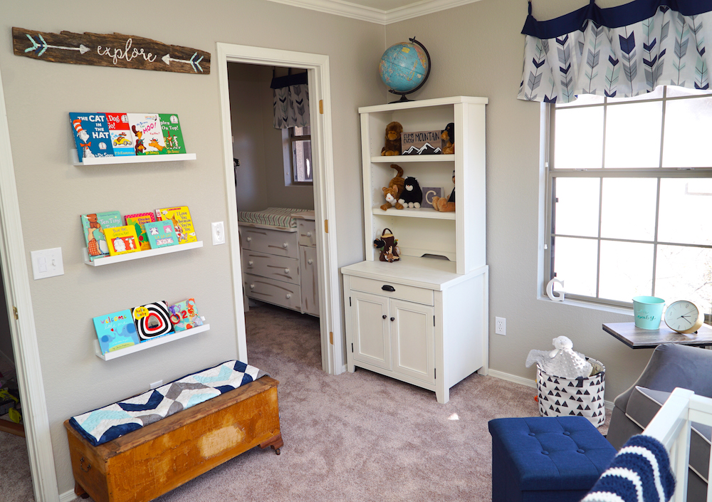 Adventure Nursery - After, Hutch, Books, Toy Box
