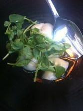 truffle edamame dumpling... sooo yummy