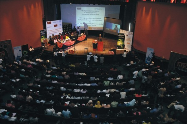 The United Nations INTERNATIONAL YOUTH DAY 2014 Event In Nigeria