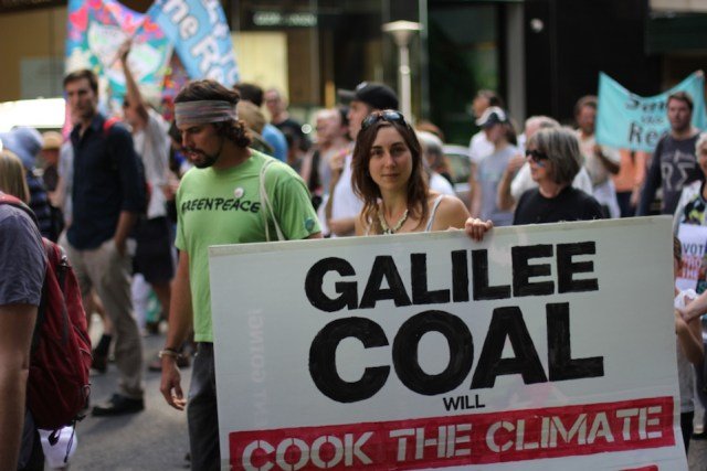 Greenpeace activists protest the coal industry in Australia in 2013. Photo Credit: FusionVision/Flickr (CC By 2.0)