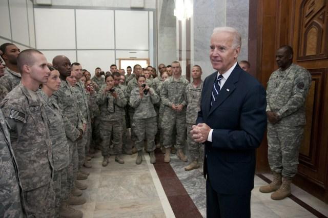 American Vice President Joe Biden in Iraq in 2011. Photo Credit: U.S. Forces Iraq/ Flickr (CC By 2.0)
