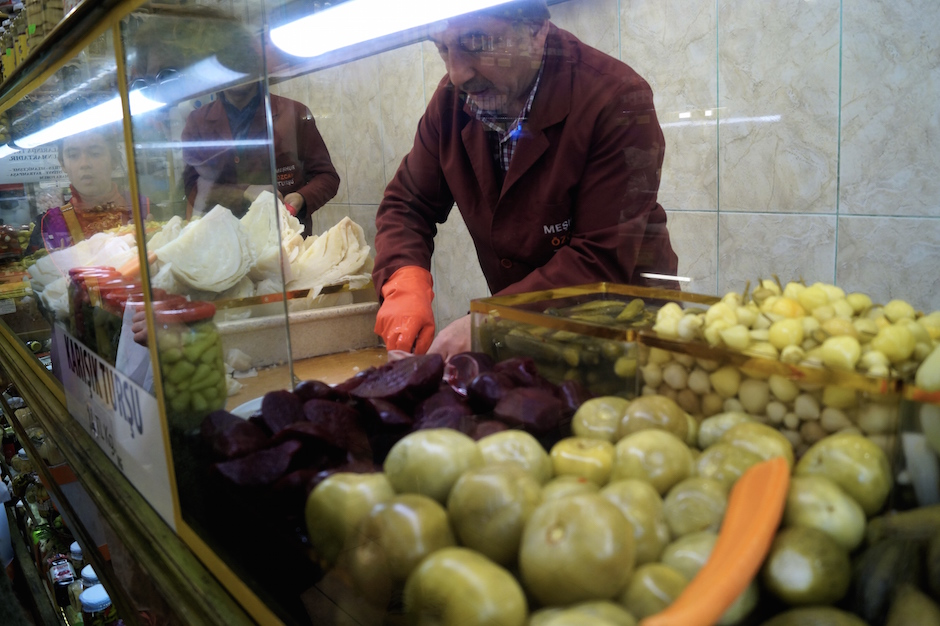 Pickle Shop, Kadakoy, Istanbul