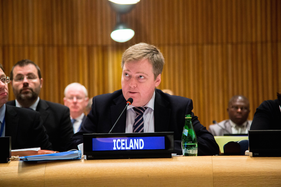 Iceland's Prime Minister Sigmundur Davíð Gunnlaugsson resigned Tuesday after a large public outcry from the Panama Papers. Photo Credit: Control Arms/ Flickr (CC By 2.0)
