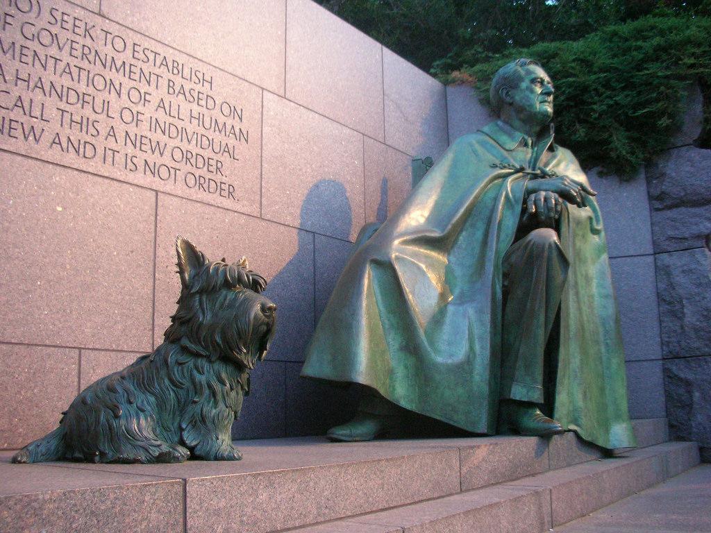 FDR Memorial in Washington, D.C. Photo Credit: Matt Wade/ Flickr (CC By 2.0)