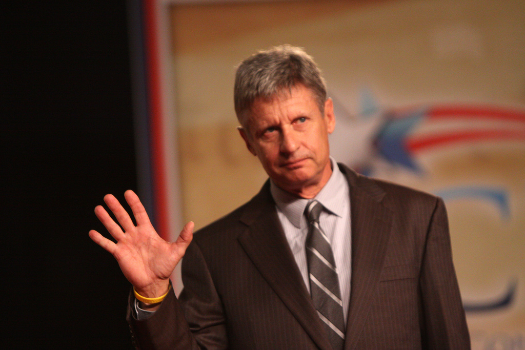 Former Gov. Gary Johnson is the Libertarian Party nominee for President. Photo Credit: Gage Skidmore/ Flickr (CC By 2.0)