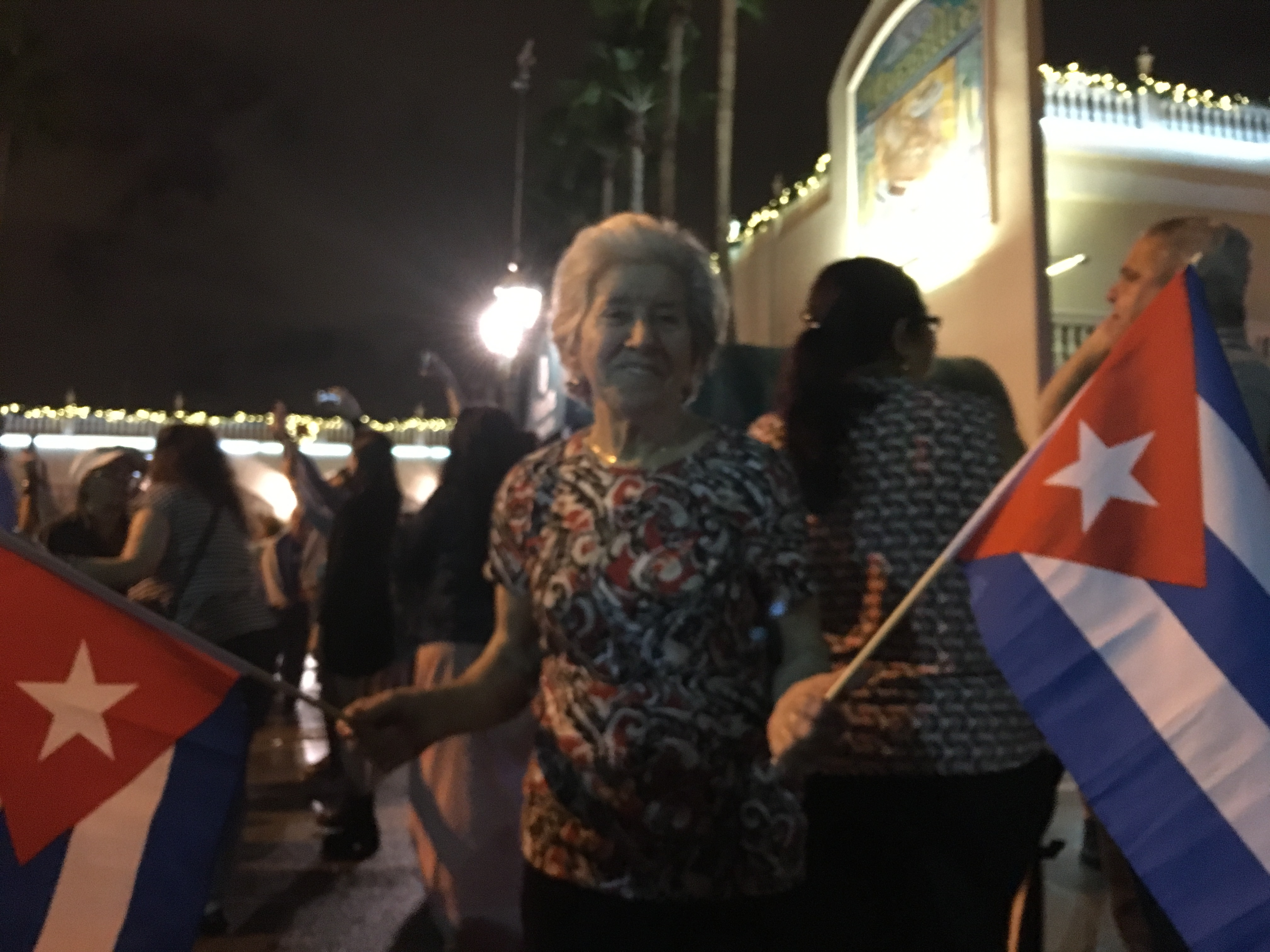 photo essay little havana celebrates the death of fidel castro local acircmiddot miami acircmiddot millennial intel