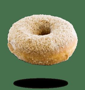 cinnamon caramel donut