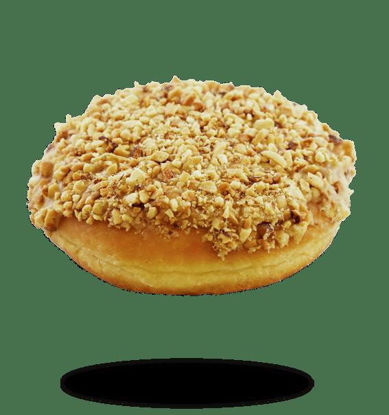 peanut bismark donut