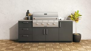 Saber Urban Built-in BBQ - Outdoor Kitchens Vancouver -