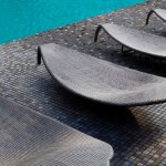 Pool Tile Colour: CHANTILLY - Ezzari Mosaico Dealer Vancouver - Rise Outdoor