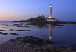Northumberland, St Mary's Lighthouse, UK