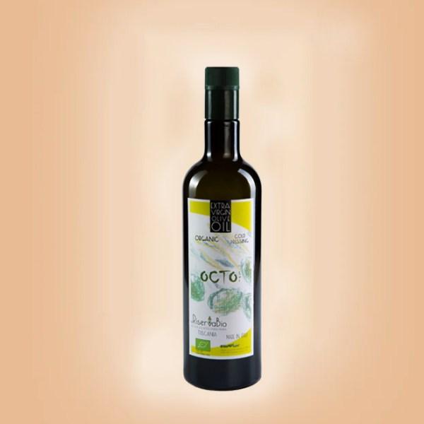 Octo Extra Virgin Olive Oil Bottle