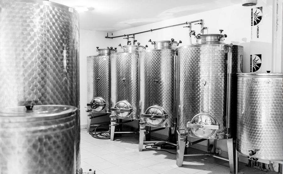 Olive Oil Storage Silos