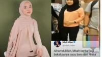 Bikin Geger, Viral Video Nissa Sabyan Elus-elus Perut