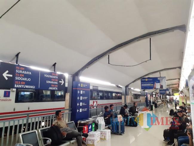 Perjalanan KAI Stasiun Malang Tak Ikut Mudik Lebaran