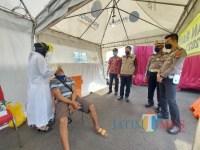 1.600 Alat Rapid Tes Antigen Disiapkan di Pospam Exit Tol Madyopuro Selama Larangan Mudik