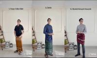 Sarung ala TikTokers Untuk Outfit Salat Ied dan Lebaran