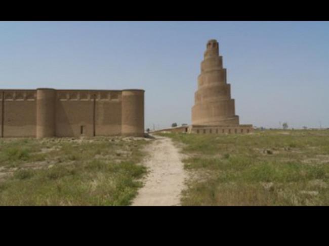 Mengulik Menara Spiral Unik Masjid Agung Samarra Irak yang Jadi Ikonik
