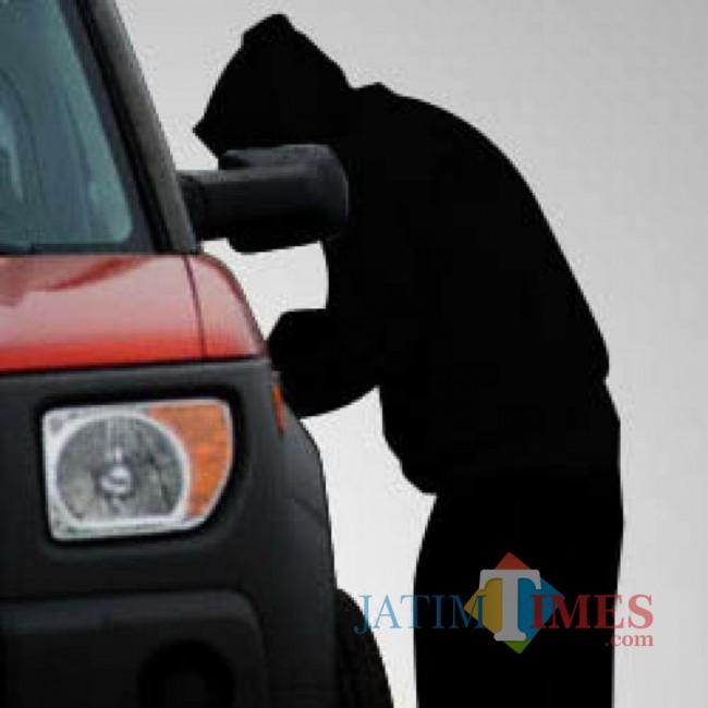 Hati-Hati, Pencurian Kian Merajalela, Mobil Pick-Up di Pasar Raib Digondol Maling