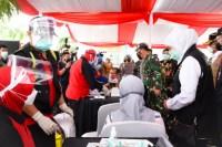 Jatim Cetak Tren Capaian Vaksinasi Tertinggi se-Indonesia: 131.640 Dosis Sehari