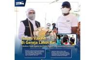 Vaksinasi Covid-19 Door to Door ke Komunitas Warga Papua di Surabaya Digelar Pemprov Jatim