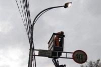 Seksi Penerangan Jalan PU Kota Malang Rutin Lakukan Kontroling