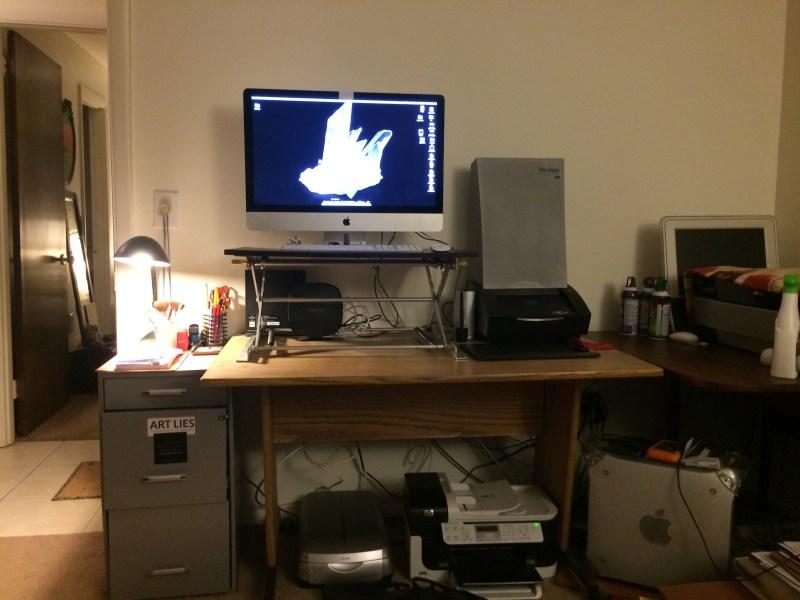 Apple Standing Desk