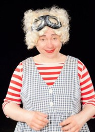"""Sara Moore - Clown Conservatory Director at Circus Center - """"Comedy is a donut for the soul"""""""