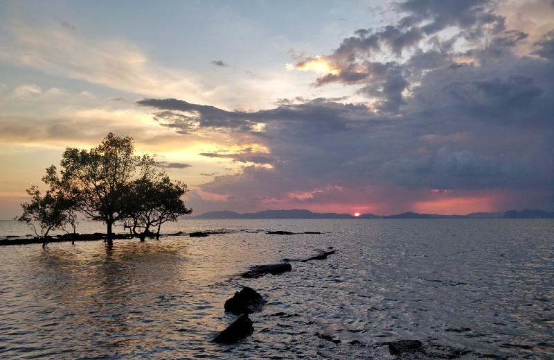 Sunset in Sikao, Trang