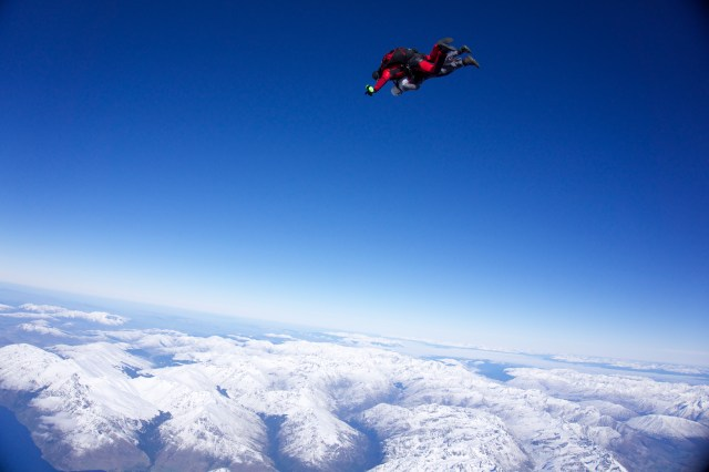 NZONE Skydive, Queenstown