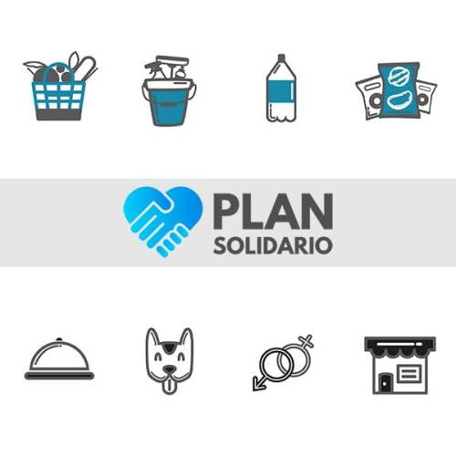 Plan Solidario página web desarrollada por Risi.cl