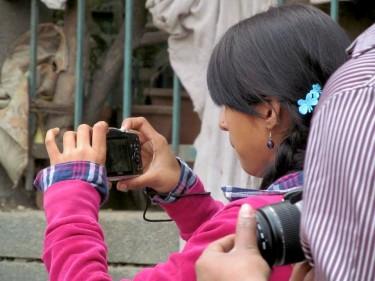 Improving Sanitation: Making Videos in South Delhi