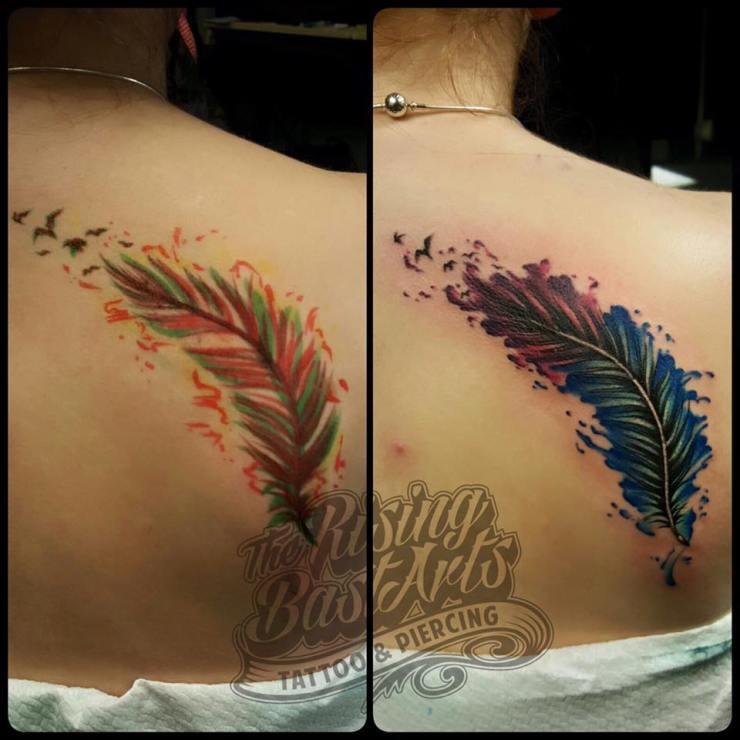 feathertattoo_freehandtattoo-tattoovoorbeelden