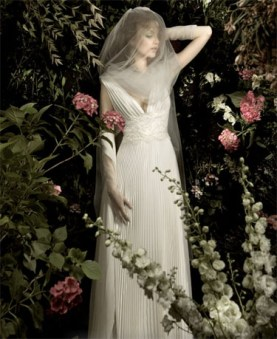 Italian fashion house Blumarine's bridal collection