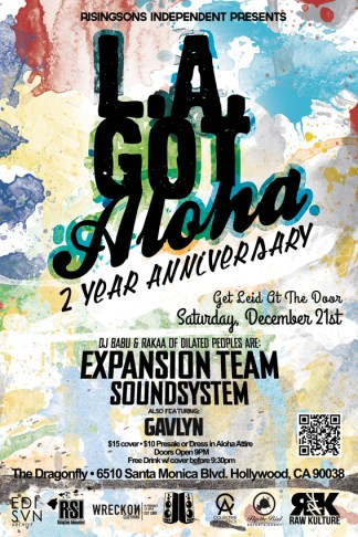 la-got-aloha---2-year-anniversary---front