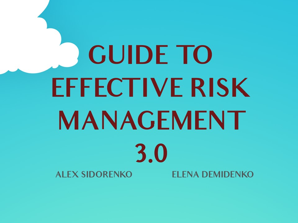 FREE BOOK: Guide to effective risk management (50000+ downloads)