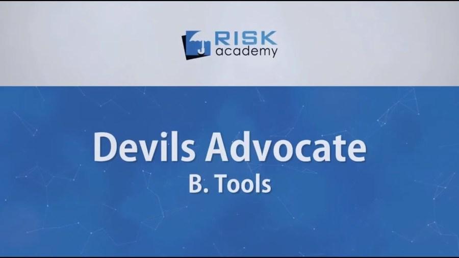 85. Devils advocate – Tools (part b) – Alex Sidorenko