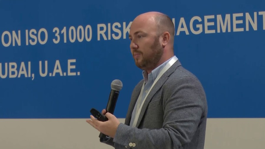 Alex Sidorenko at G31000 Dubai 2017 – full presentation on risk maturity