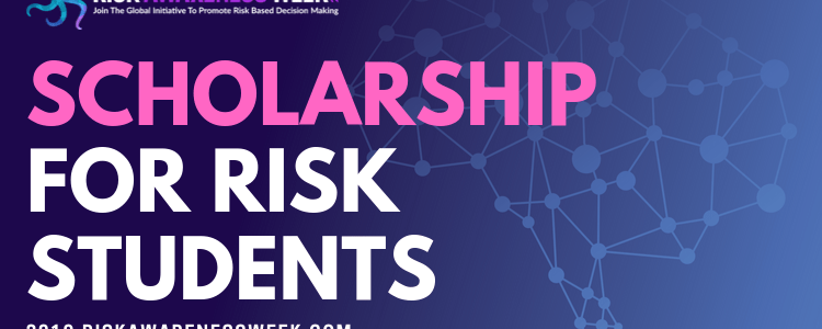 I am giving away 50 full tickets to #riskawarenessweek2019 to students studying risk management