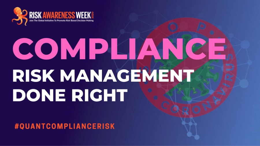 ISO and COSO haven't got a clue. You can and should quantify compliance risks