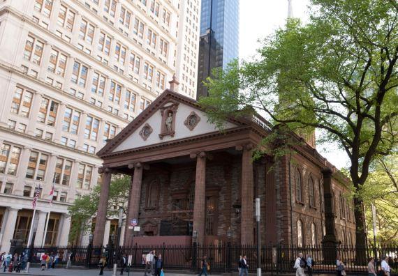 Manhattan History, St. Paul's Chapel